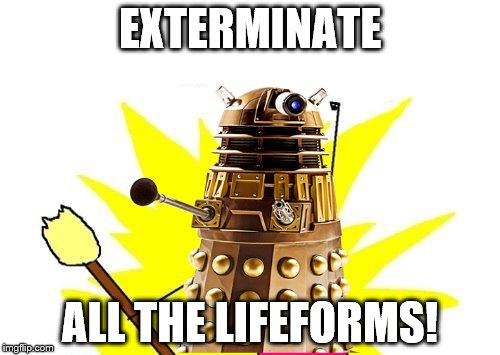 daleks they just dont give up imgflip