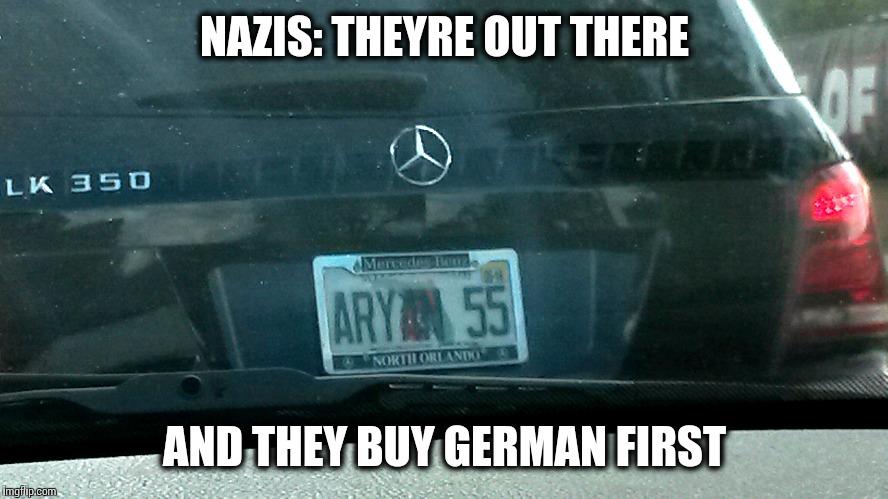 yu8dn image tagged in nazi,mercedes,florida imgflip,Mercedes Meme