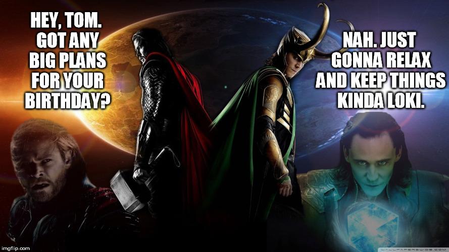 Happy Birthday Tom Hiddleston Imgflip