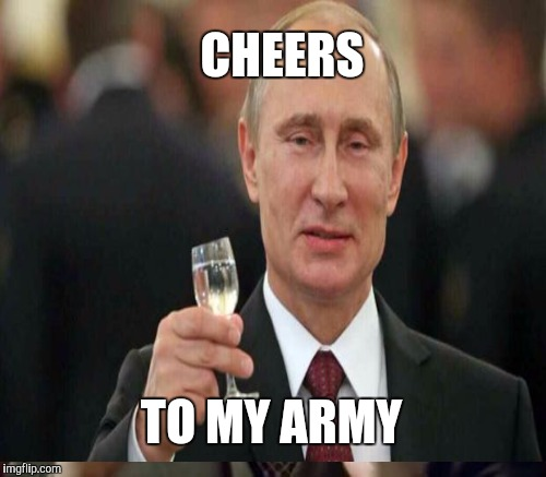 TO MY ARMY CHEERS | made w/ Imgflip meme maker