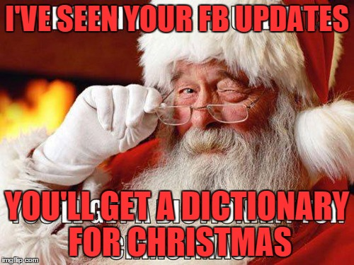 Image result for funny christmas grammar