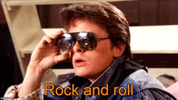 Rock and roll | made w/ Imgflip meme maker
