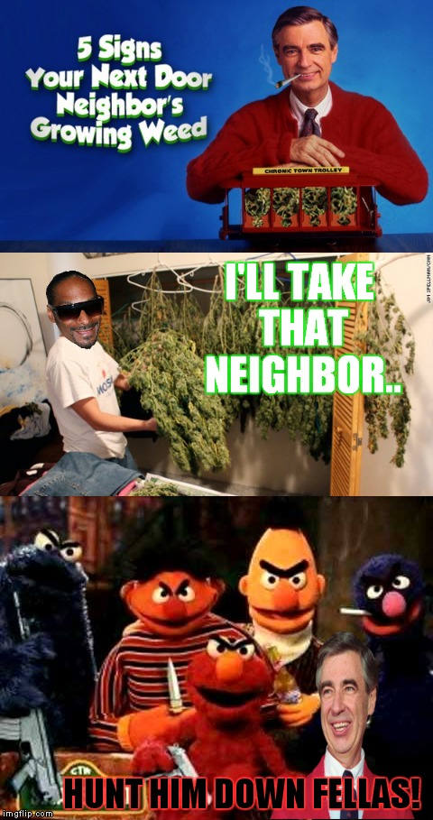 "I had a feeling ""the land of make believe"" was a bit too happy of a place... 
