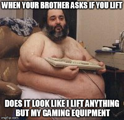 fat guy gaming