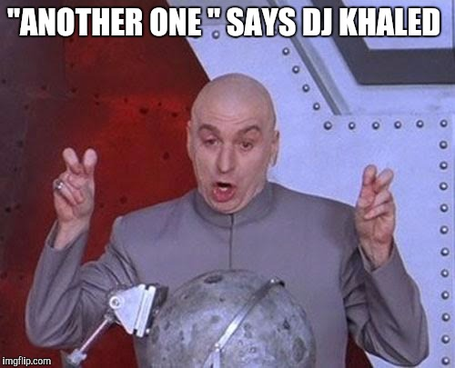 """Another one"" 
