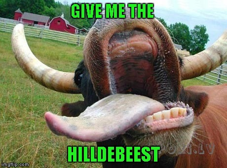 GIVE ME THE HILLDEBEEST | made w/ Imgflip meme maker