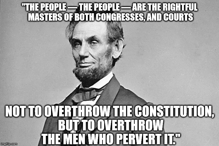 Hillary Thinks She Is Honest Abe Pathetic No Holds