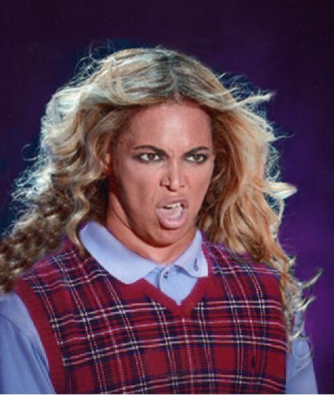 Bad Luck Beyonce Blank Template - Imgflip