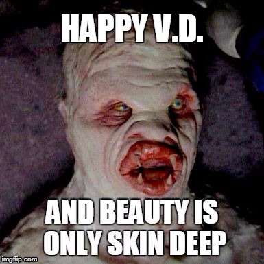 Toll Anti Valentine | HAPPY V.D. | Image Tagged In Valentineu0027s Day,meme | Made