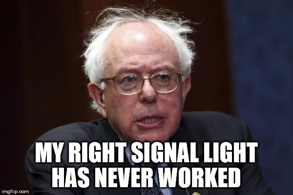 MY RIGHT SIGNAL LIGHT HAS NEVER WORKED | made w/ Imgflip meme maker