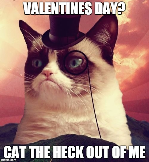 Grumpy Cat Top Hat Meme Imgflip