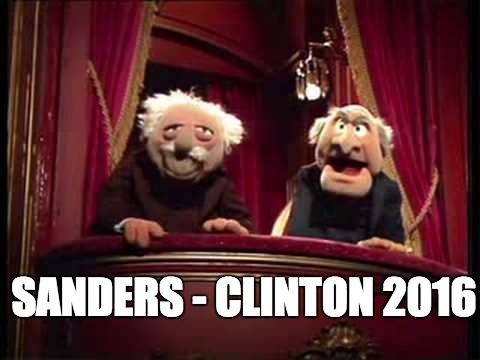 Democrat Ticket | SANDERS - CLINTON 2016 | image tagged in hillary clinton,bernie sanders,democrats,liberals,socialists,presidential candidates | made w/ Imgflip meme maker