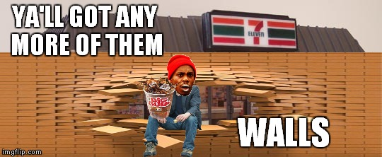 YA'LL GOT ANY MORE OF THEM WALLS | made w/ Imgflip meme maker