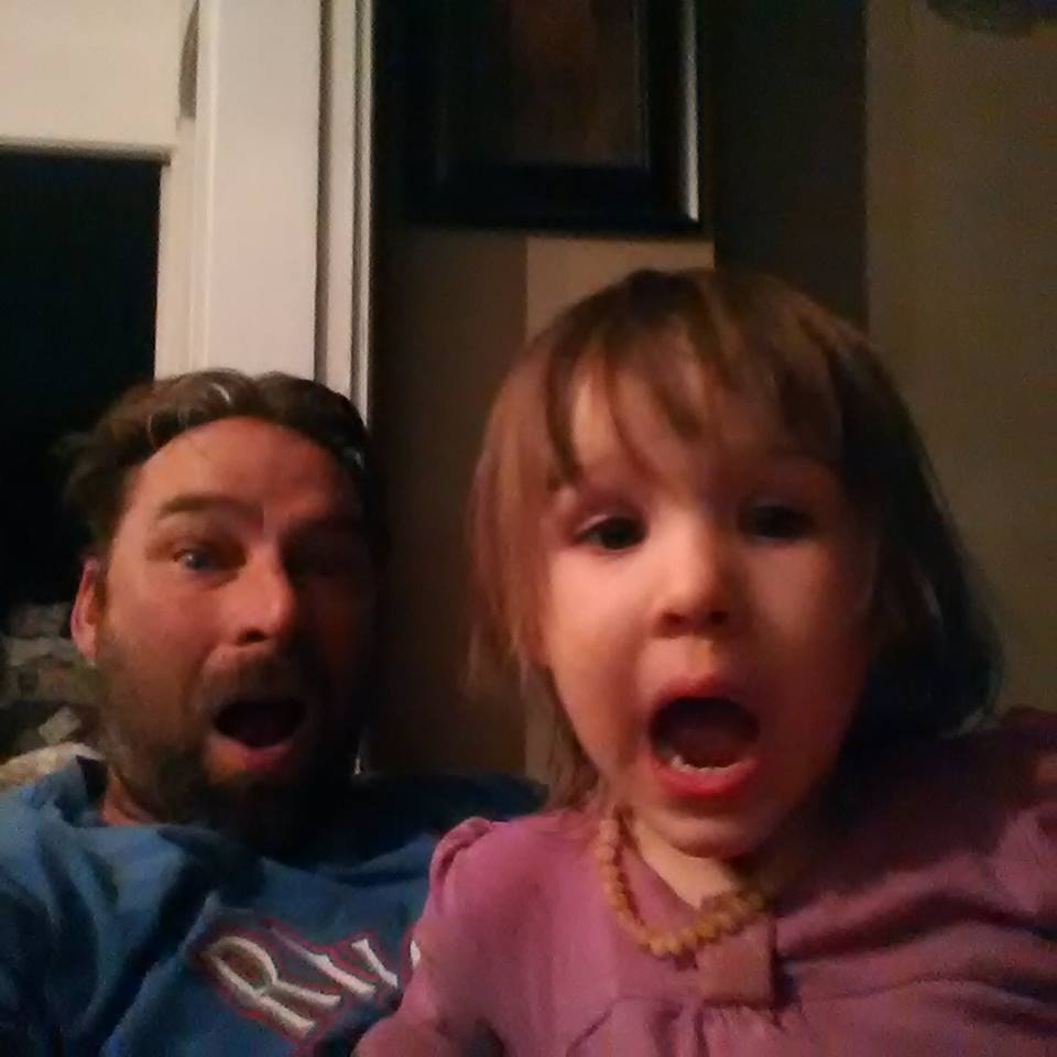 shocked dad daughter Meme Template