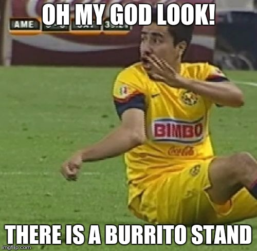 Efrain Juarez | OH MY GOD LOOK! THERE IS A BURRITO STAND | image tagged in memes,efrain juarez | made w/ Imgflip meme maker