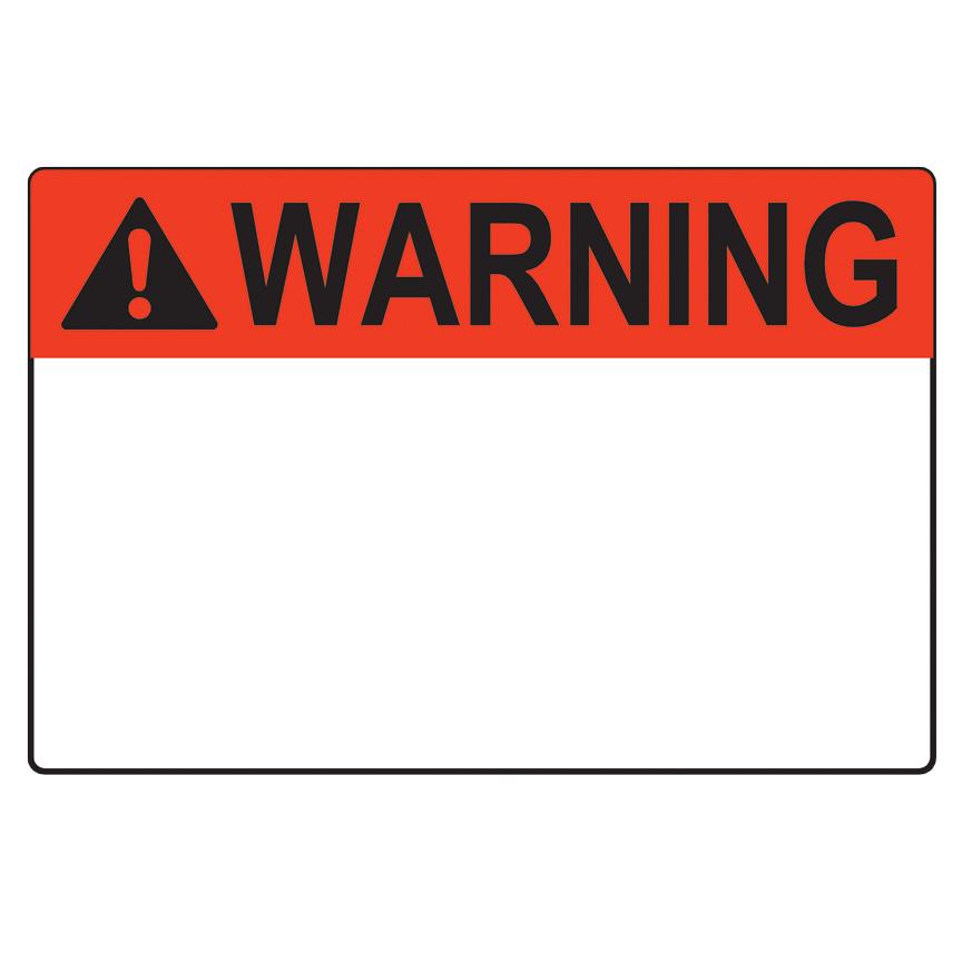 Warning Label Blank Template - Imgflip