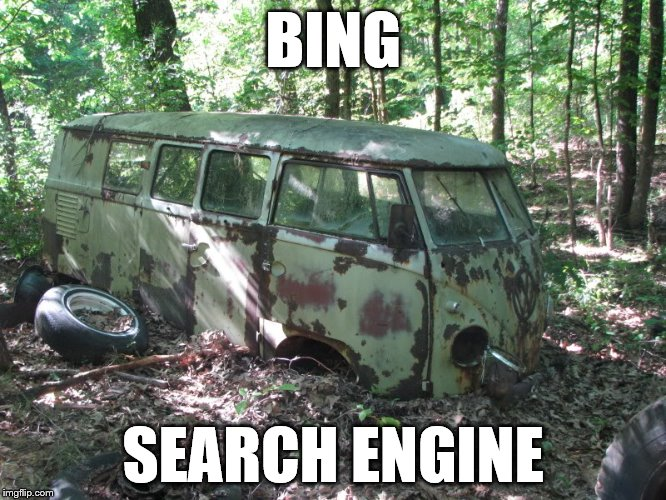 BING SEARCH ENGINE | made w/ Imgflip meme maker