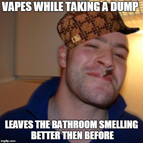 Guy Taking A Dump