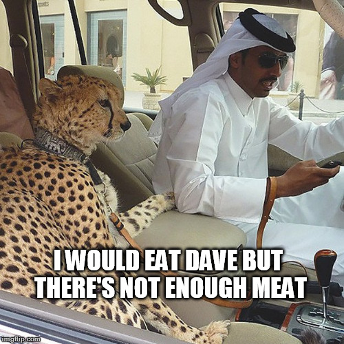 I WOULD EAT DAVE BUT THERE'S NOT ENOUGH MEAT | made w/ Imgflip meme maker