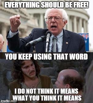 Bernie Sanders Princess