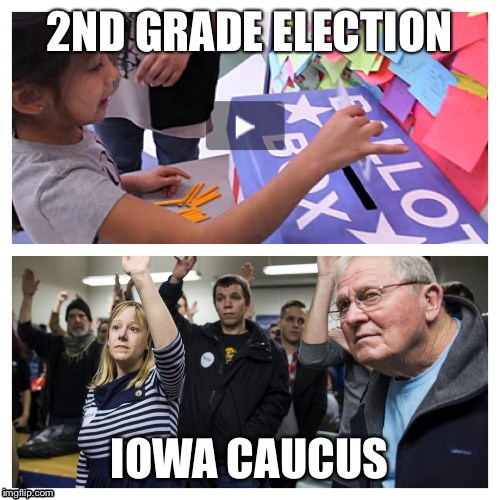 Road to the White House!! | 2ND GRADE ELECTION IOWA CAUCUS | image tagged in election 2016,iowa caucus,democrat,republican,primary,president | made w/ Imgflip meme maker