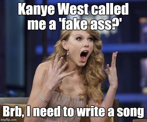 Kanye west asshole taylor swift