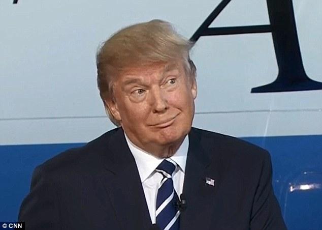 Image result for trump smirk