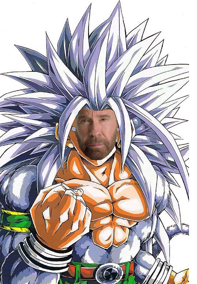 super saiyan chuck norris latest memes imgflip