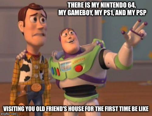 zkhxj x, x everywhere meme imgflip,Nintendo 64 Meme