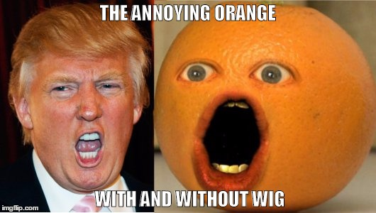 Trump Vs Annoying Orange