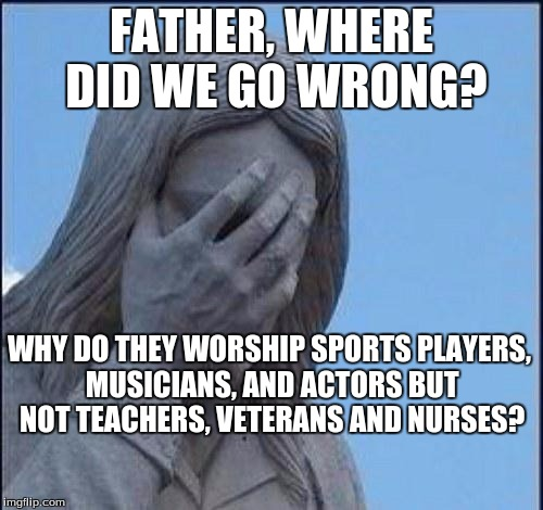 Disappointed Jesus
