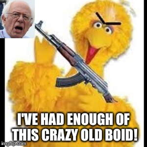 I'VE HAD ENOUGH OF THIS CRAZY OLD BOID! | made w/ Imgflip meme maker