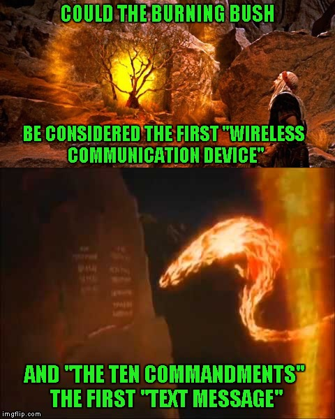 "It would seem that ""wireless communication"" has been around for quite some time. 