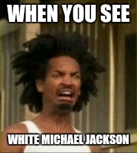 I'm not trying to be racist, but he just looked better when he was black |  WHEN YOU SEE; WHITE MICHAEL JACKSON | image tagged in memes,music | made w/ Imgflip meme maker