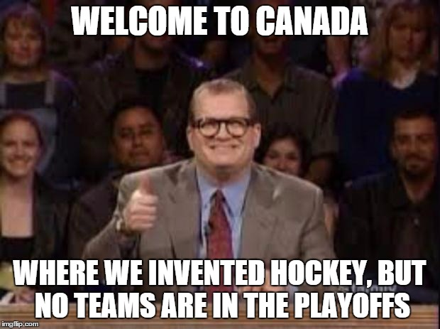Image result for canadian hockey meme