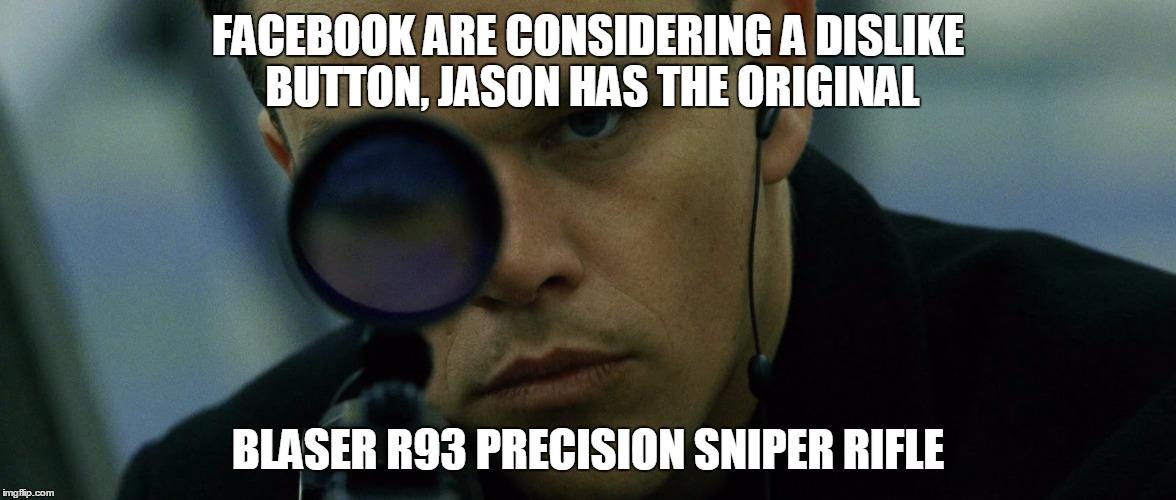 Jason Bourne Disapproves Meme Generator Imgflip