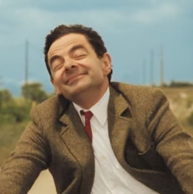 mr bean happy face blank template imgflip
