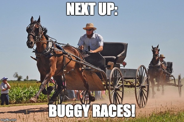 NEXT UP: BUGGY RACES! | made w/ Imgflip meme maker