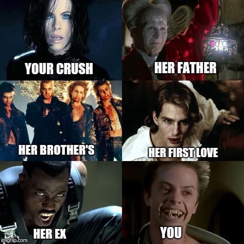 your crush meme