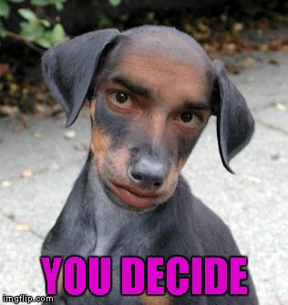 YOU DECIDE | made w/ Imgflip meme maker